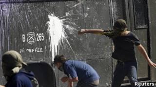 این بزرگ ترین جنبش اعتراضی در شیلی از زمان برقراری دموکراسی در این کشور است
