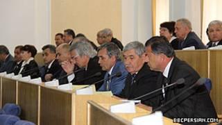 Заседание парламента Таджикистана