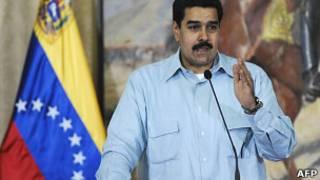 Nicolás Maduro, canciller de Venezuela. Foto de archivo