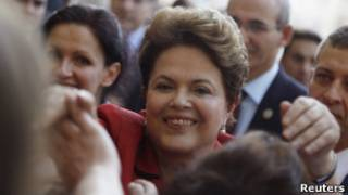Dilma Rousseff. Foto: Reuters