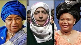 Ganadoras del Premio Nobel de la Paz 2011