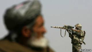 Американский солдат в Афганистане