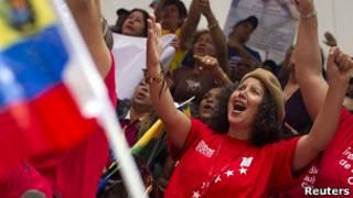 Сторонники Чавеса