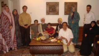 کروبی و خانواده اش- عکس از فیسبوک محمدحسین کروبی