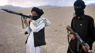 مقاتلان من طالبان