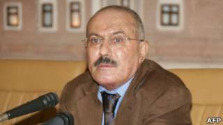 Perezida Ali Abdullah Saleh wa Yemeni