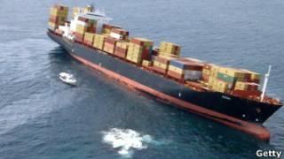 سفينة الحاويات رينا