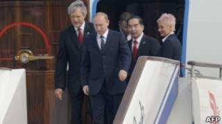 Российский премьер-министр Владимир Путин