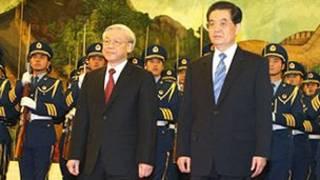 TBT Nguyễn Phú Trọng và Chủ tịch Hồ Cẩm Đào