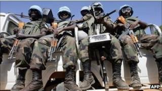 قوة يوناميد في دارفور