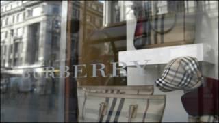 Burberry商店橱窗