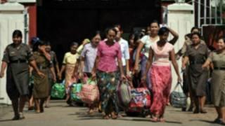 Abapfungwa barekuwe muri Burma
