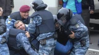 """Беркут"" 11 жовтня в Києві"