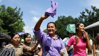 Miến Điện trả tự do cho tù chính trị