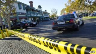 Место стрельбы в Сил-Биче оцеплено полицией