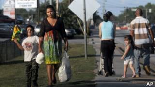 Imigrantes mexicanos na Geórgia. AP