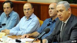 Заседание израильского правительства