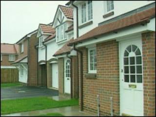 英格兰新建住房
