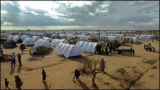 Inkambi ya Dadaab irimo impunzi z'abasomali