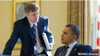 Майкл Макфол и Барак Обама