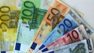 Notas de euro. | Foto: AP
