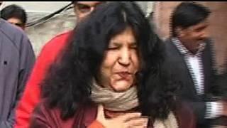पाकिस्तानी सूफ़ी गायिका आबिदा परवीन