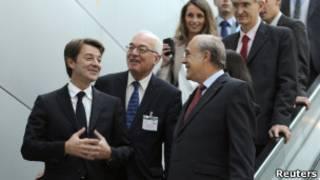 Participantes do G20 Foto: Reuters