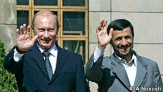 Владимир Путин, Махмуд Ахмадинежад