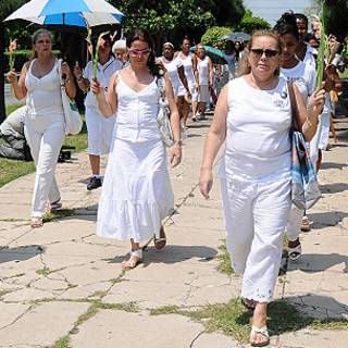 Laura Pollán y las Damas de Blanco