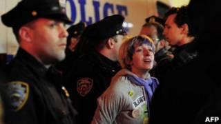 تظاهرات نیویورک