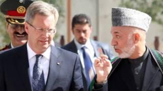 روسای جمهور افغانستان و آلمان در کابل
