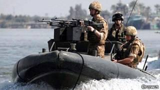 Британские Королевские морские пехотинцы