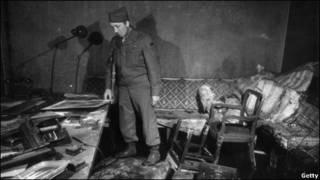 1945年柏林被攻克后的希特勒地窖