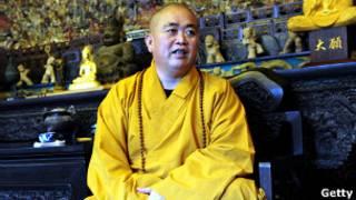 Настоятель шаолиньского монастыря Ши Юн Синь