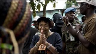 Rais Johnson-Sirleaf wa Liberia