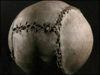 据信是世界上最古老的足球