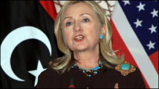 क्लिंटन लीबिया में