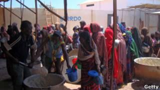 لاجئون من الصومال