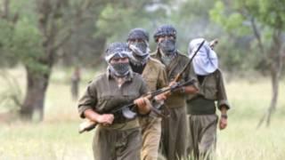 ارشيفية لمقاتلين من حزب العمال الكردستاني