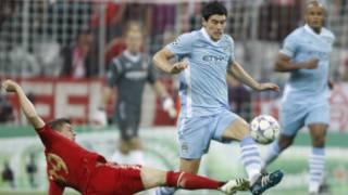 Gareth Barry joueur de Manchester City