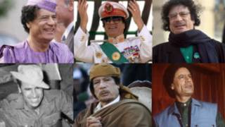 Amafoto ya Col Gaddafi