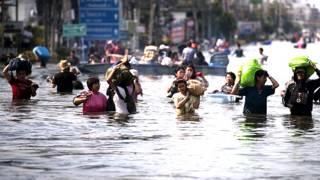 Inundaciones en Tailandia en octubre 2011
