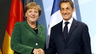 Thủ tướng Đức Merkel và Tổng thống Pháp Sarkozy