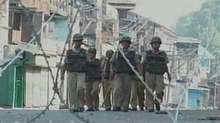 कश्मीर में सैनिक