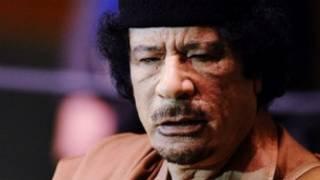 卡扎菲生前