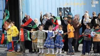 Comemorações em Misrata (Reuters)
