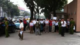 Cuộc biểu tình trước Đài truyền hình Hà Nội