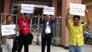 Cuộc tụ tập phản đối trước Đài Truyền hình Hà Nội