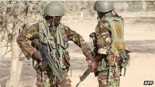 قوات كينية