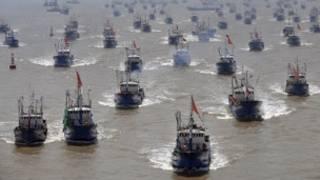 Thuyền cá Trung Quốc (ảnh chỉ có tính chất minh họa)